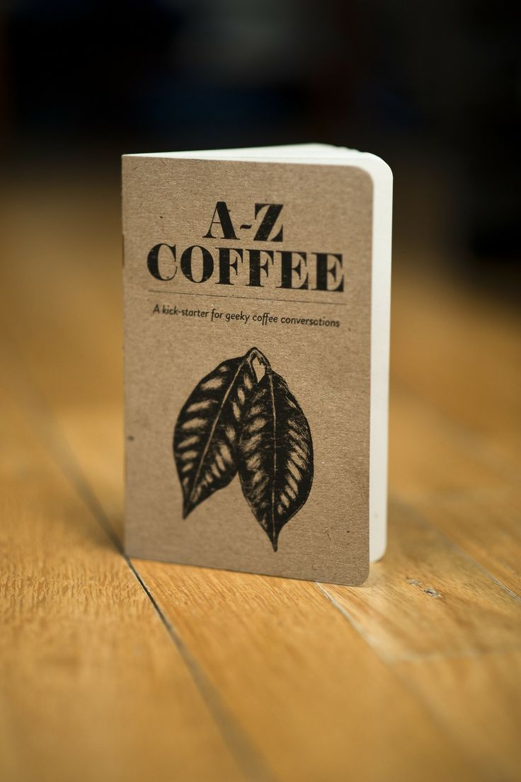 Kaffikaze A - Z Coffee book