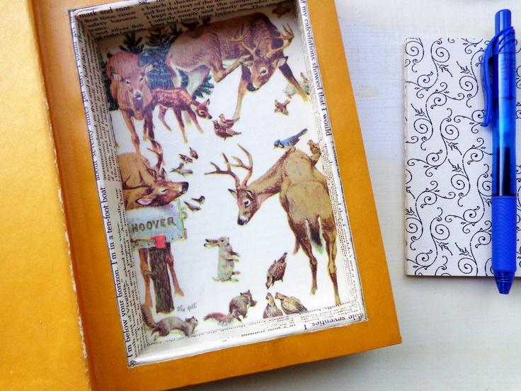 Reader's Digest Condensed Book turned Hollow Book Safe // via Etsy.