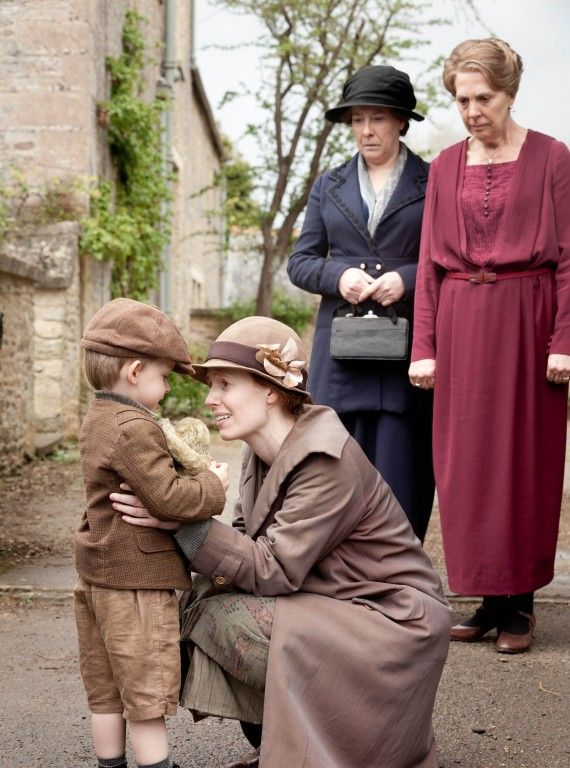 Downton Abbey Fashion: little boy Charlie is adorable