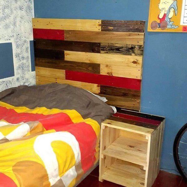 creative old wooden pallet headboard ideas wood pallet ideaspallet bedsdiy