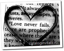 Motto-uri Nunta - Versete din Biblie - Invitatii nunta.