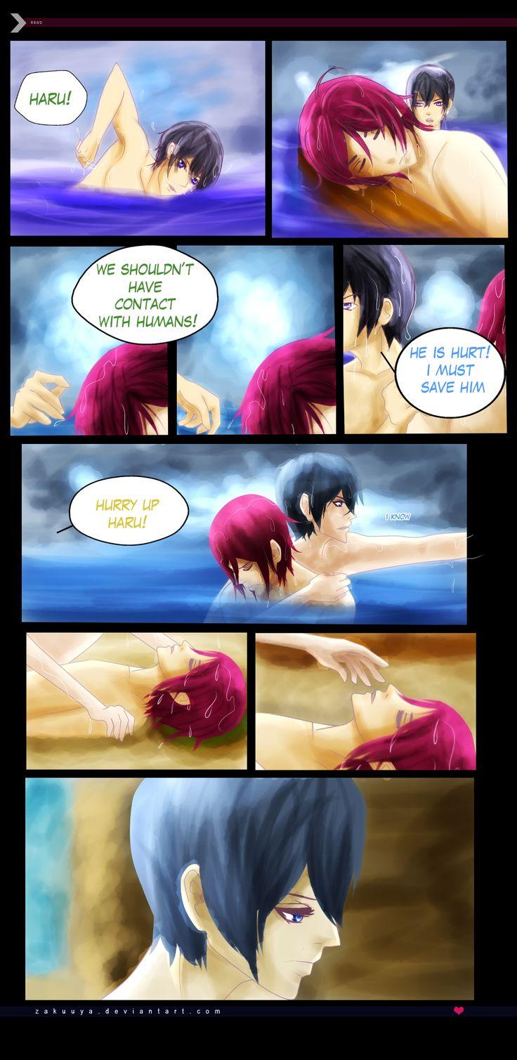 RinHaru: A Mermaid Tale 9 by Zakuuya.deviantart.com on @deviantART  Rin x Haru | rinharu from Free! Iwatobi Swim Club  Doujinshi