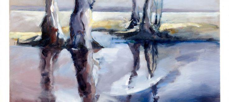Goose Creek -  70 x 100cm Oil on canvas