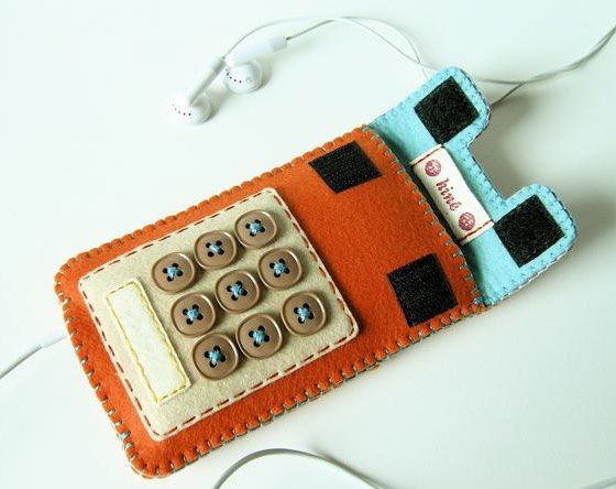 Felt camera and iphone cases — Try Handmade