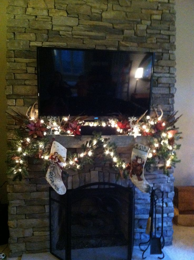 Decorating A Mantle Christmas Mid Century