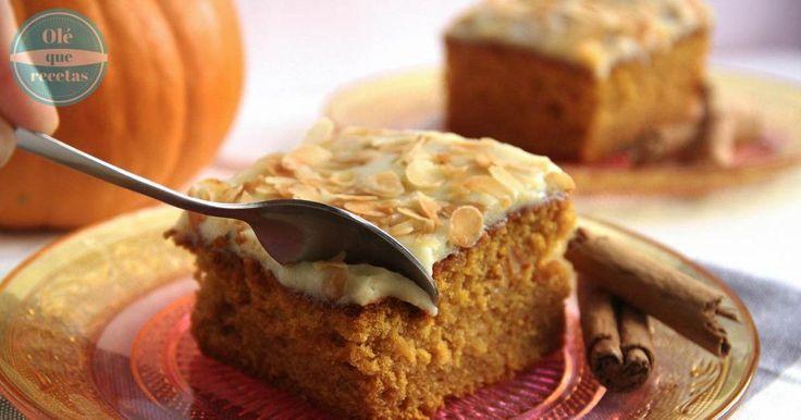 Para hacerlo más rico, este pastel también lleva un toque de jengibre y chocolate blanco, entre otros ingredientes. ¡Puro placer!
