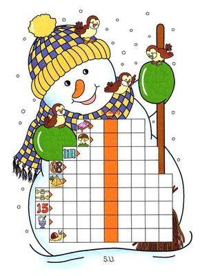 winterrätsel - bilderrätsel für kinder   bilder rätsel, bilder, fehlersuchbild