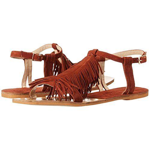 (クリスティン カヴァラーリ) Kristin Cavallari レディース シューズ・靴 フラット Tommy Fringe Sandal 並行輸入品  新品【取り寄せ商品のため、お届けまでに2週間前後かかります。】 カラー:Rust Kid Suede 商品番号:ol-8520793-24792 詳細は http://brand-tsuhan.com/product/%e3%82%af%e3%83%aa%e3%82%b9%e3%83%86%e3%82%a3%e3%83%b3-%e3%82%ab%e3%83%b4%e3%82%a1%e3%83%a9%e3%83%bc%e3%83%aa-kristin-cavallari-%e3%83%ac%e3%83%87%e3%82%a3%e3%83%bc%e3%82%b9-%e3%82%b7%e3%83%a5-5/