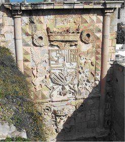 La puerta de España en la alcazaba.