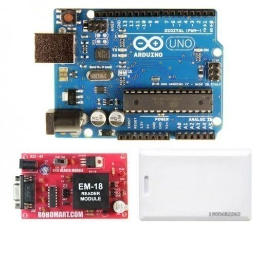 Buy online rfid system learning kit based arduino from Robomart.com at best buy prices.
