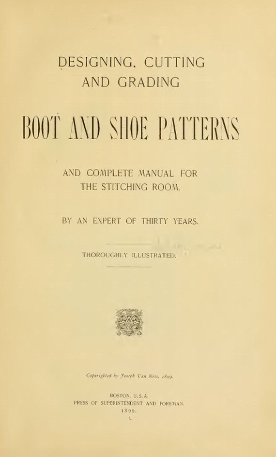 BOOT and SHOE Patterns Designing Cutting by BuriedTreasureChest