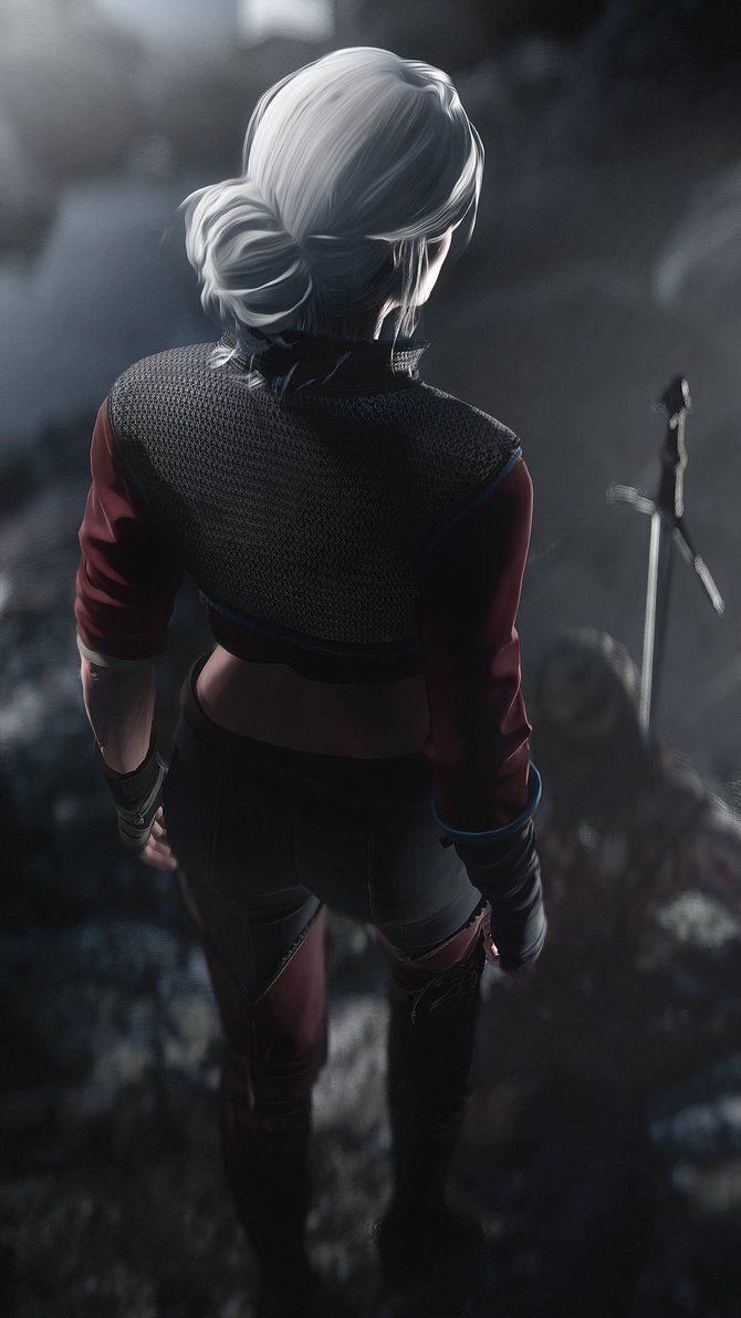Ciri [The Witcher 3] by Breadblack