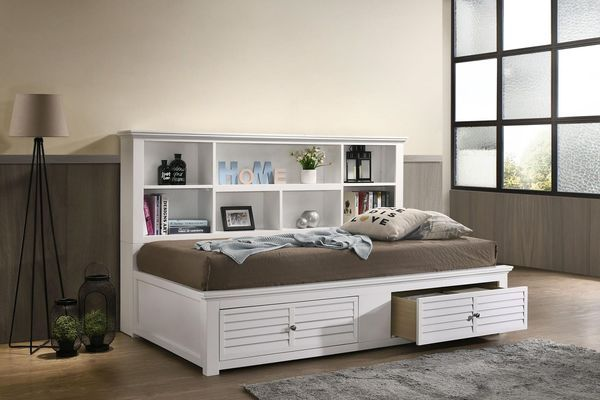 Western Queen Bed With Storage Storage Bed Queen Full Daybed