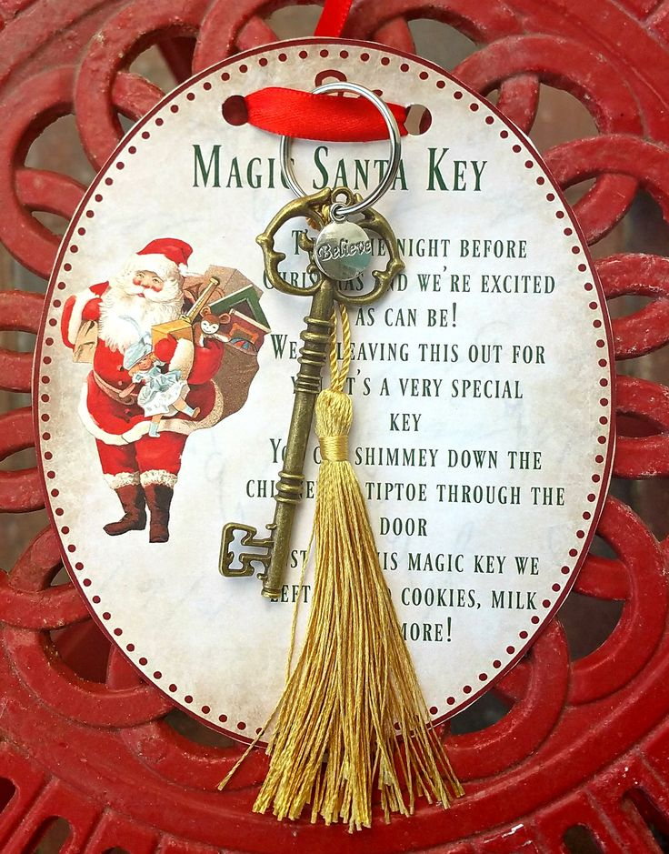 Magic Santa Key how-to and FREE printable