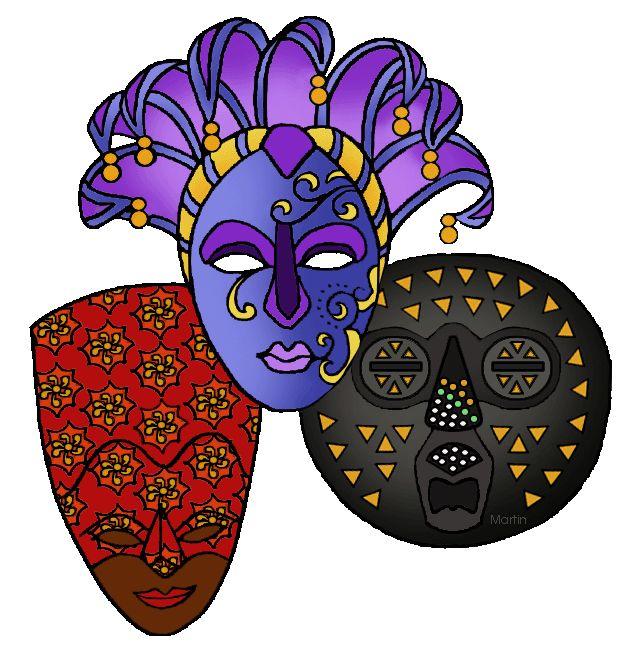 Africa for Kids - Masks
