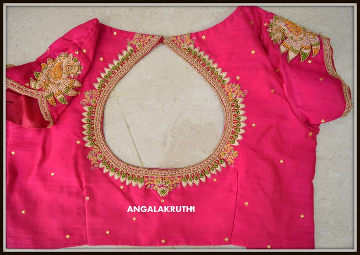 Ladies and kids boutique in Bangalore Neck designs, Hand Embroidery in Bangalore,zardosi work blouses, Blouse Hand Embroidery desings, Designer blouse designs, pattu blouse zardosi work designs, pattu blouse designs for back, blouse designs hand work, work blouse designs for pattu sarees, work blouse designs catalogue, latest blouse back designs, maggam work blouse back design, latest embroiderwork blouses,Thread embroidery ,Angalakruthi