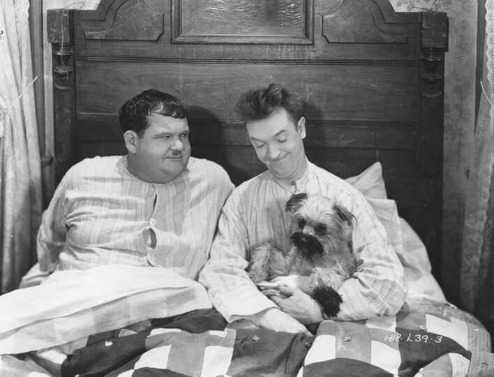 "Laurel & Hardy - ""Laughing Gravy"" one of the very best shorts."
