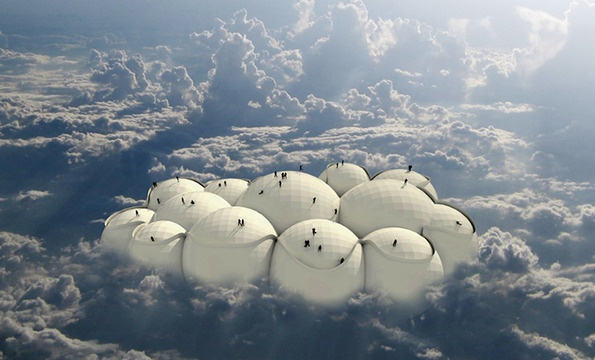 Design concept would have you travel the world on a floating cloud.