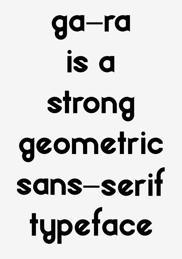 Gara Typeface - OCULTO