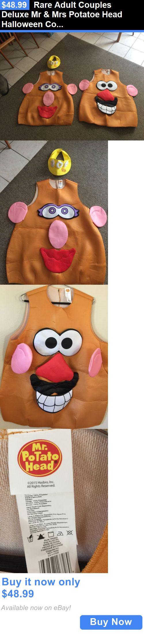 Halloween Costumes Couples: Rare Adult Couples Deluxe Mr And Mrs Potatoe Head Halloween Costumes Xl 42-46 BUY IT NOW ONLY: $48.99 #priceabateHalloweenCostumesCouples OR #priceabate