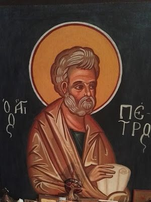 Βάλε χρώμα: Αγιογραφία του Αγίου Πέτρου