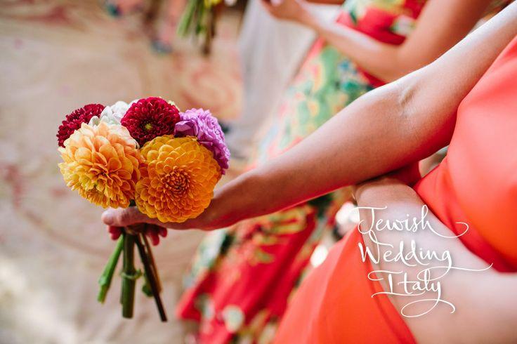 @E Thomas @lillie's flowers for weddings and celebrations Wedding Planning: www.jewishweddingitaly.com