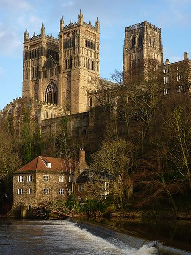 Durham Cathedral, Durham, England by limegarth   - Explore the World with Travel Nerd Nici, one Country at a Time. http://TravelNerdNici.com