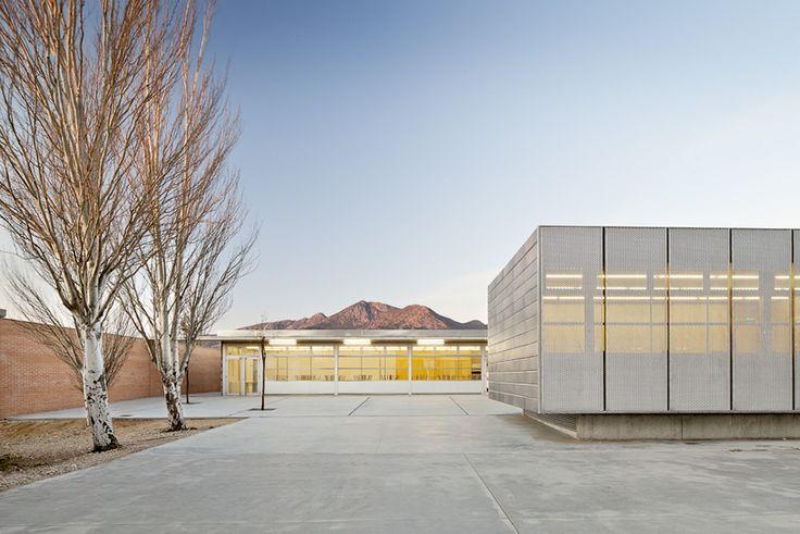 IES cap norfeu extension by javier de las heras sole   bosch tarrus arquitectes - designboom | architecture