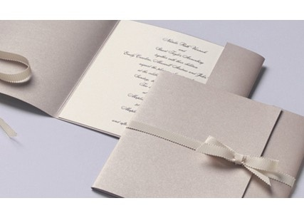 Vera Wang Wedding Invitations - simple and elegant.