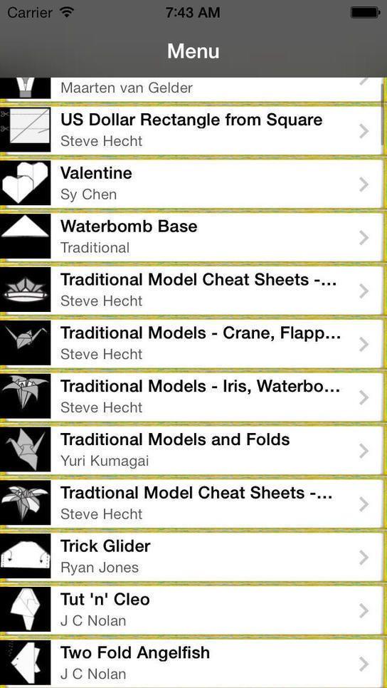 iPhone Giveaway of the Day - Einfache Origami | Freakinthecage Webdesign Stuttgart - Der Blog