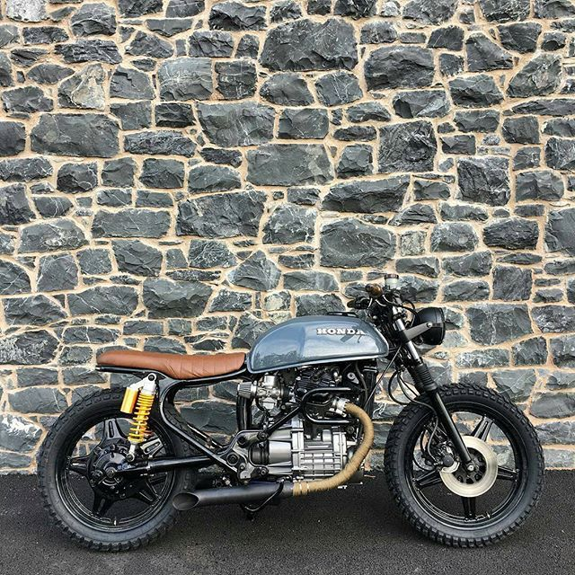 "Courtesy of the finest @roscoewtsn ""Is a project ever really finished?"" Nasty Honda CX 500 ! Thanks for sharing.  #caferacer #caferacers #caferacerporn #caferacerxxx #caferacersofinstagram #caferacersociety #caferacerclub #bobber #bobberporn #bobbers #gopro #bobbersnchoppers #oldschool #moto #motorcycles #caferacergram #caferacerofinstagram #greece #dreambike #instagram #honda #motolove #luxury #athens #europe #instabike #instadaily #caferacerculture #outlaw #caferacerandbobbernation"