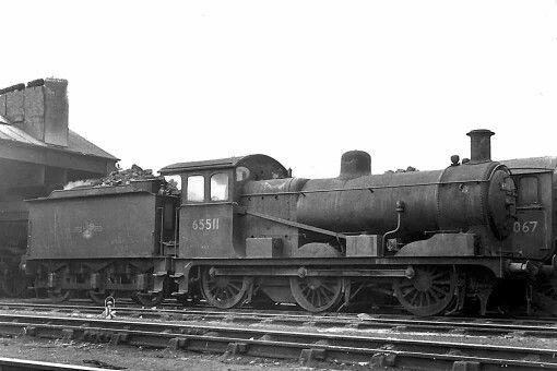 BR (LNER) (GCR)  Robinson J11 class  0-6-0
