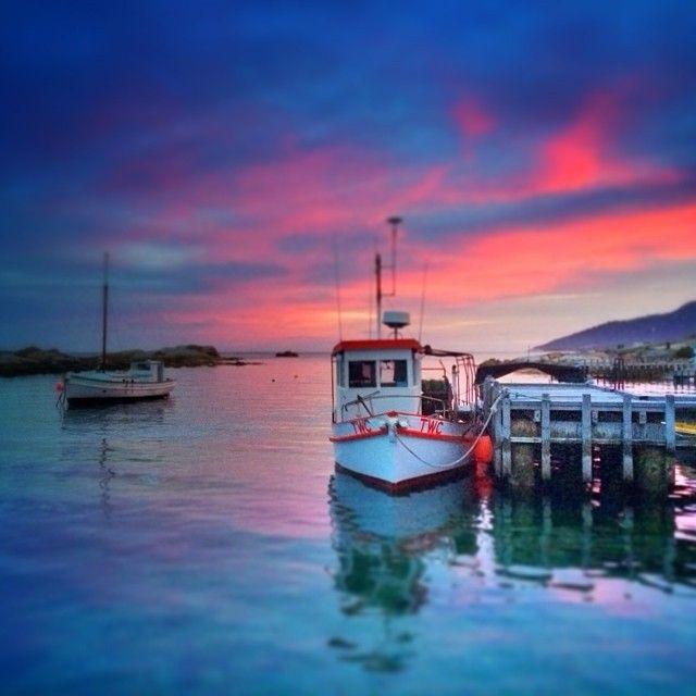 Beautiful Bicheno on the east coast of Tasmania Australia. #discovertasmania. #bicheno #eastcoasttas #sunset #tasmania Image Credit: Paul Fleming