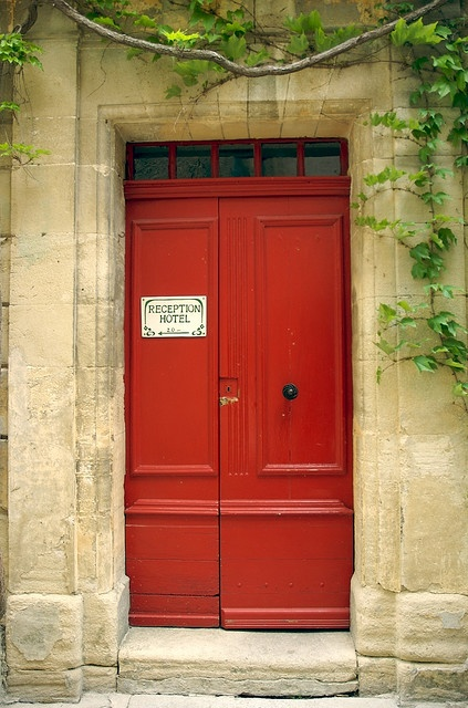 My Red Door. Just Stick Me In There And Throw Away The Key!