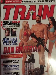 Train Muscle Magazine December 2014 US & Canada Edition, Dan Bilzerian Cover