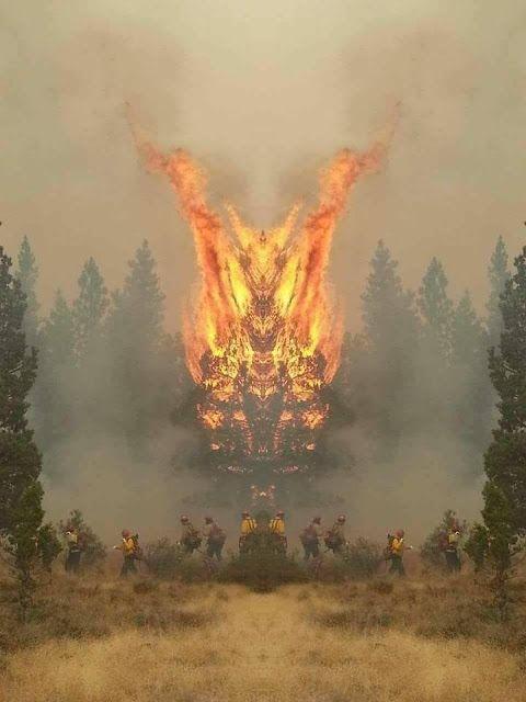 RPG, manga , quadrinhos , cultura em geral: Parece que vai ser uma batalha apagar esse incêndio