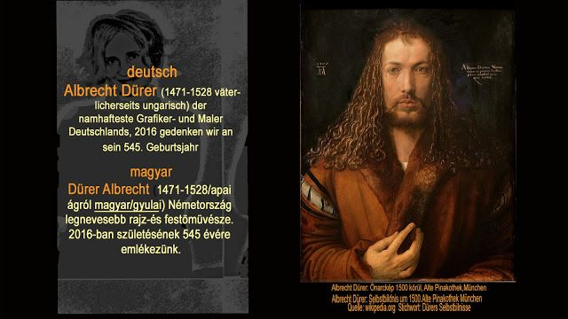 Szilvia Rad Art: vor 545 Jahren Albert Dürer