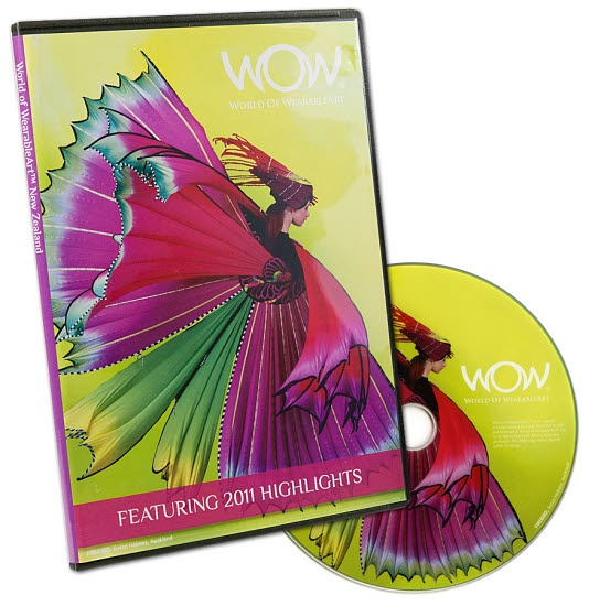 WOW DVD - including 2011 highlights, Supreme Award winners,previous year highlights and designer interviews.  $30.00NZD