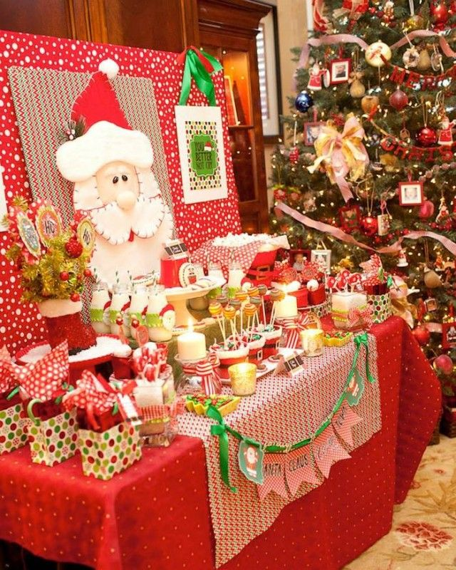 Fiesta Infantil Inspirada En La Navidad