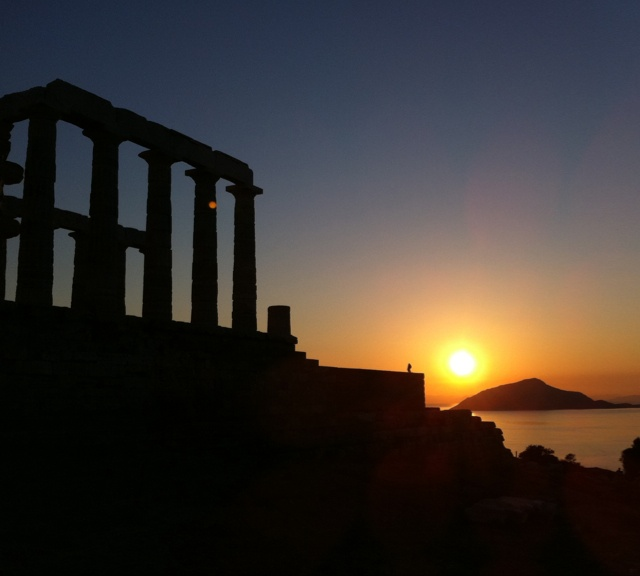 Poseidon Temple @Sounio-Greece