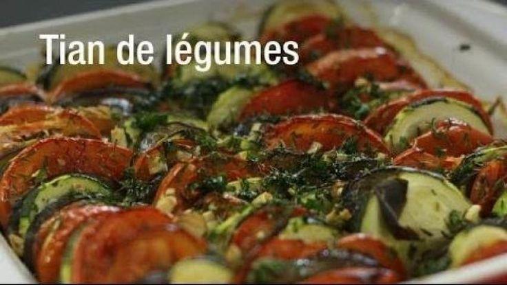 Tian aux légumes et mozzarella | Cuisine AZ