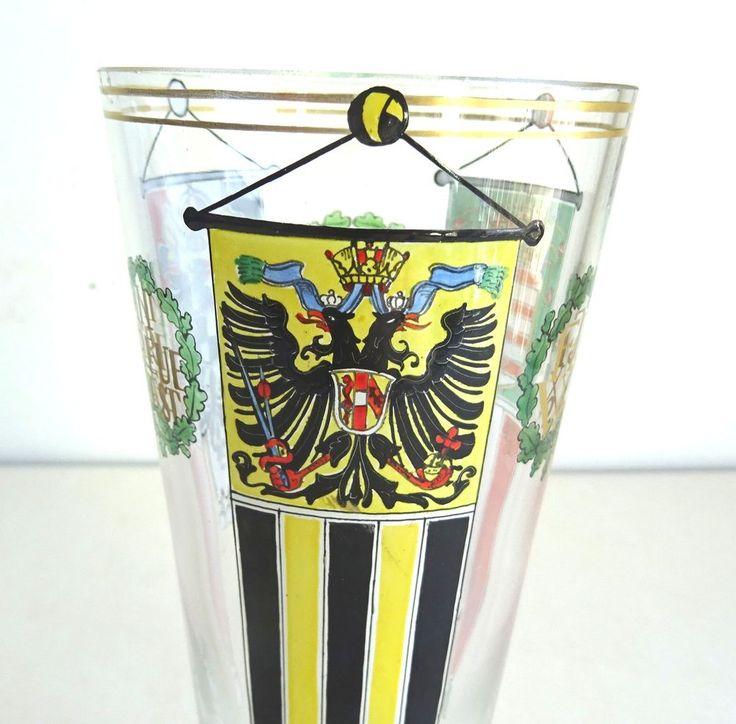 Jugendstil Art Nouveau k.k. Fachschule Haida Oertel Deutschland Ungarn Wappen
