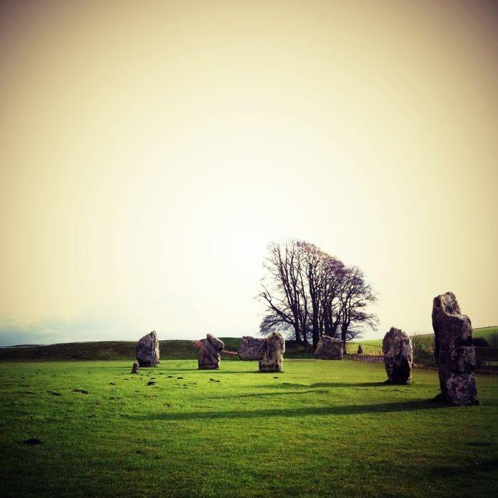 Avebury Henge in Wiltshire