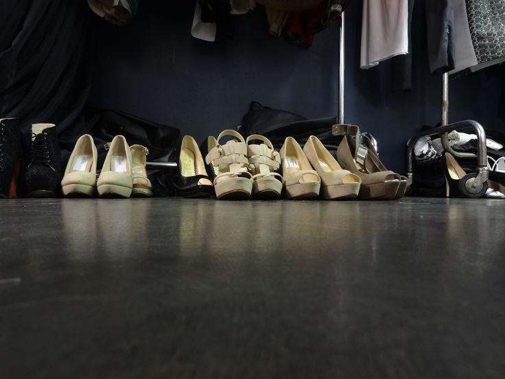 shoes - backstage 2013  www.nextfashionschool.com