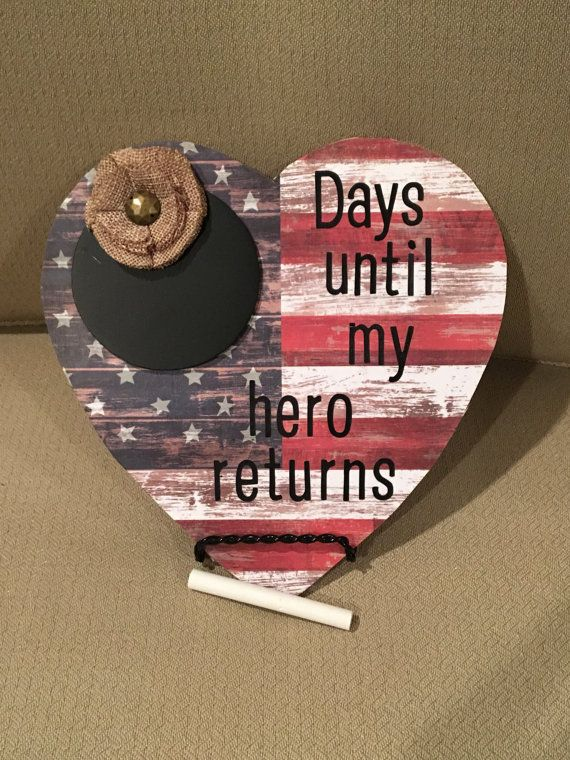 Deployment Countdown by CraftsOnSunset on Etsy