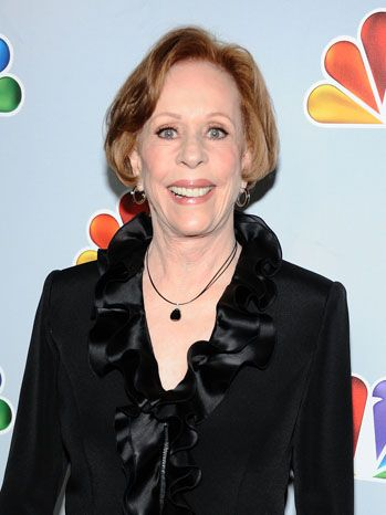 "CAROL BURNETT to receive the ""Mark Twain Prize for Humor"" - This year, the Kennedy Center has chosen Carol Burnett as the recipient of the 16th annual Mark Twain Prize for American Humor. The TV legend launched ""The Carol Burnett Show"" in 1967 and it ran for 11 seasons on CBS and won 25 Emmys. Burnett herself won six acting Emmy's, along with eight Golden Globes, 12 People's Choice Awards and a Peabody. The award ceremony will take place in October 20, 2013 and air Oct. 30 on PBS."