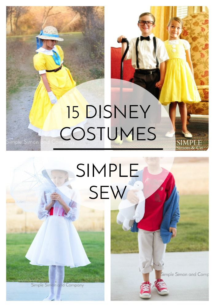 15 Disney Costumes to Sew - Simple Simon and Company