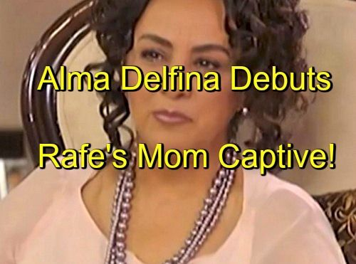 Days of Our Lives (DOOL) Spoilers: Alma Delfina Debuts - Rafe Shocked to Find Mom Adriana is Yo Ling's Prisoner
