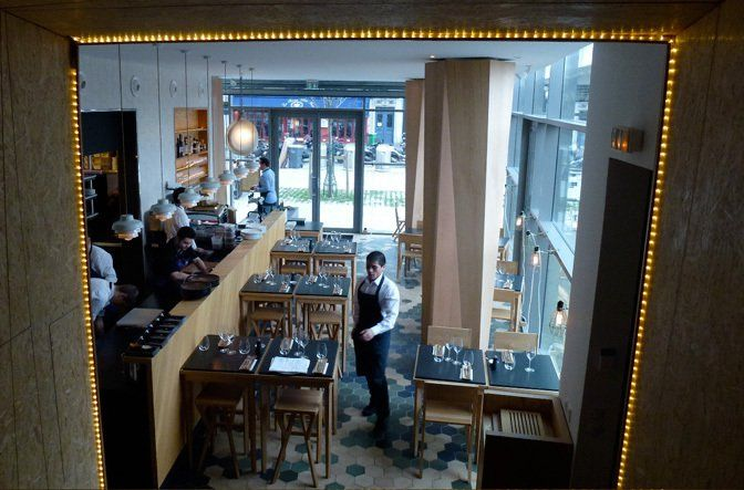 Restaurant Coretta à Paris 17e