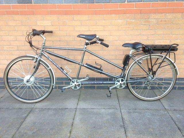 Dawes Discovery Tandem Electric Bike Conversion Electric Bike Kits Bike Kit Electric Bike